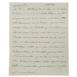 Napoleon I – a letter signed by his own hand, Smolensk, 19.8.1812
