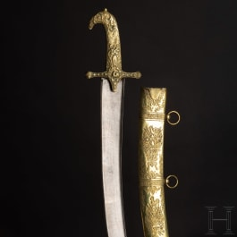 A significant ceremonial sabre – presented to General Joseph Nicolas Noël Brice, 1837
