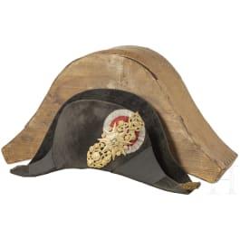 A noble bicorne for navy officers under Grand Duke Leopold II (1824-59)
