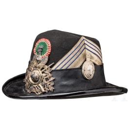 An Alpini bowler hat - Bombetta da Colonnello degli Alpini, late 19th century