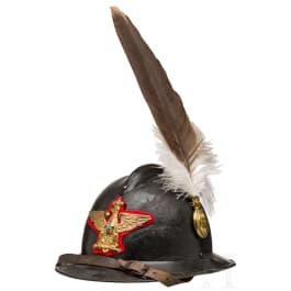 """A parade leather helmet - Elmo da Parata """"Adrian"""" mod. 16 da Generale dell'Esercito"""
