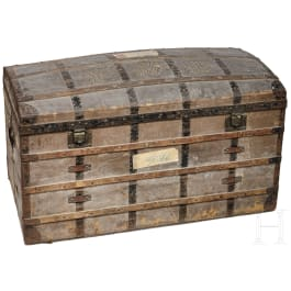 Queen Isabella II of Spain – a travel chest from the equipage used on her escape to exil in 1868