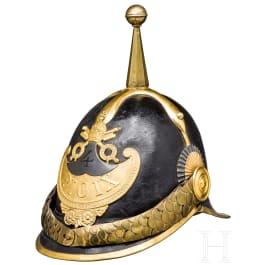 """A helmet for EM of the """"Guardia Civica Pontificia"""", 1846-78"""