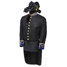 A tunic and a bicorne of a papal official from the pontificate of Pius XII