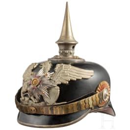 Helm für Offiziere im 1. Badischen Leib-Grenadier-Regiment Nr. 109, um 1914