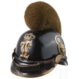 A helmet M 1868 for enlisted men of the infantry