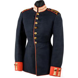 A tunic for a volunteer of the Royal Saxon Infantry, circa 1900