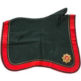 A parade saddle blanket for artillery officers until 1914