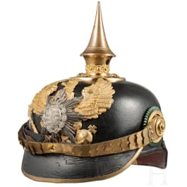 A helmet M 1915 for officers in the Infantry Regiment Grand Duke of Saxony (5th Thuringian) No. 94
