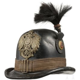 A hat for a postilion of the German Reichspost in the principality of Waldeck, circa 1890