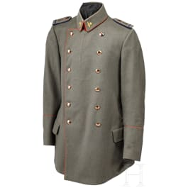 A field-grey Litewka for a Prussian war-affiliated assistant doctor