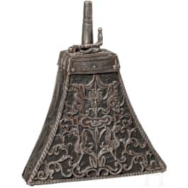 Musketier-Pulverflasche, Norditalien, um 1600