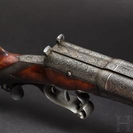 Zündnadel-Doppelflinte, Franz von Dreyse, Sömmerda, um 1880