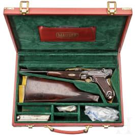 Parabellum-Karabiner Mod. 1902, im Koffer, DWM