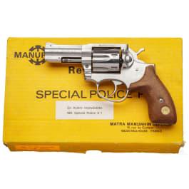 Manurhin Special Police X 1, Stainless, im Karton