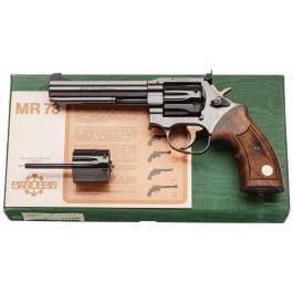 Manurhin Mod. MR 73 Sport mit Wechseltrommel, im Karton