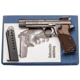 Sportpistole SIG P 210-6, im Karton