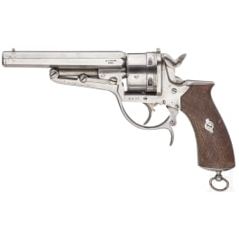 Revolver FR. Vilegiado Eibar, Sys. Galand, um 1870