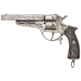 Revolver Teodoro Ybarzabal, Sys. Galand, Eibar, um 1870