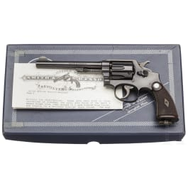 Smith & Wesson .38 Military & Police Model 1905, 4th Change, British Government Contract, im Karton