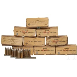 152 Patronen 9 mm Mauser Export und 9 mm Steyr M12