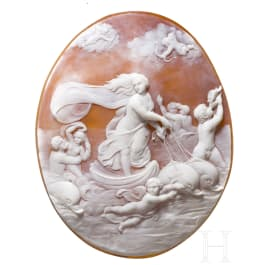 A large Italian or French Cameo, 19th century