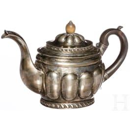 An Estonian silver teapot, Mirtau, 19th century