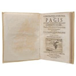 """Geographia Curiosa"", C.F. Paullini, Frankfurt, 1699"