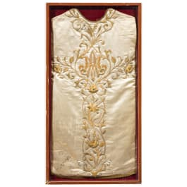 A liturgical vestment, 18th/19th century