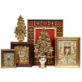A set of six South German monastic works, 19th century