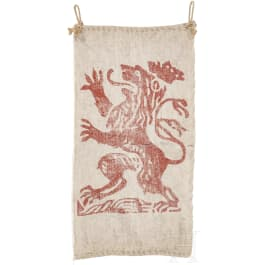 A Hessian hunting banner, dated 1827