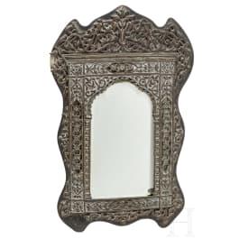 An Egyptian/North African mirror, circa 1900