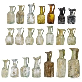 Collection 21 Late Roman and Early Byzantine Glass Vessels, Eastern Mediterranean Region