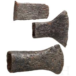 Three Celtic iron tools, 3rd – 1st century B.C.