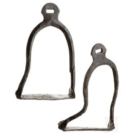 A pair of Alanian stirrups, 10th - 11th century