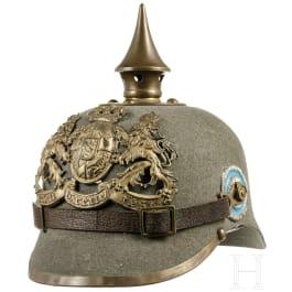 Bayerischer Ersatzhelm M 1915 für Mannschaften der Infanterie