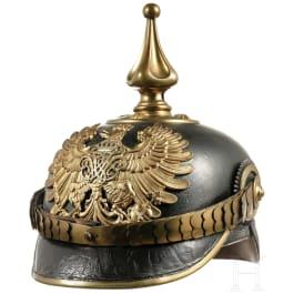 Helm für Beamte des preußischen Zolls, um 1890