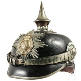 Helm für Kadetten im Königreich Sachsen, um 1910