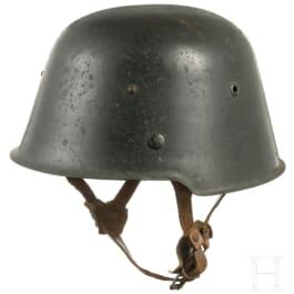 """A German steel helmet M 54 (""""Kesslerbombe""""), 1954 - 1956"""