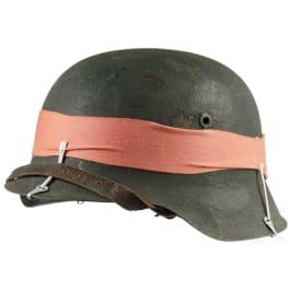 A steel helmet M 42, Bundesgrenzschutz, 1950s