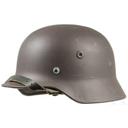A Finnish steel helmet after German model M 35/40, 1950s