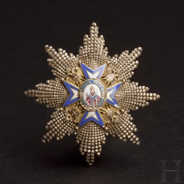 Serbia - St. Sava - Order of the Brilliant Breast Star to Grand Officer