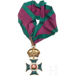 Order of St. Stephen - a Commander's Cross (a copy)