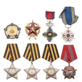Eight awards, 20th century