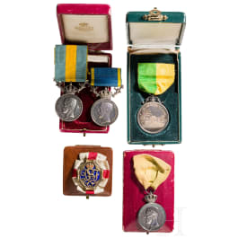 Awards and medals, Sweden, 1st half of the 20th century