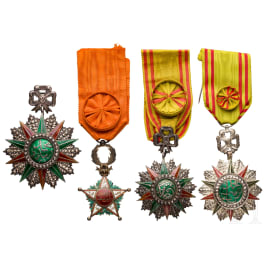 An order of Glory - Commander and two officer decorations