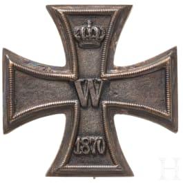 An Iron Cross 1st class 1870
