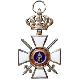 Oldenburg House and Merit Order of Duke Peter Friedrich Ludwig - Grand Cross with the golden crown and swords