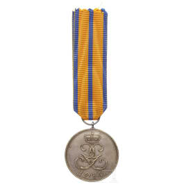 A silver medal for service in war 1914