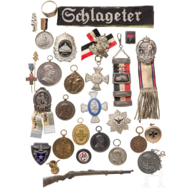 A group of badges German Empire and k&k Austria, varia